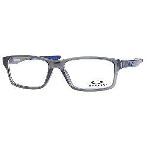 Óculos Infantil Masculino Oakley Crosslink XS OY8002 Cinza e Azul