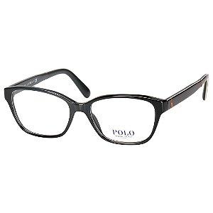Armação de Grau Preta Polo Ralph Lauren Feminina Média PH2165