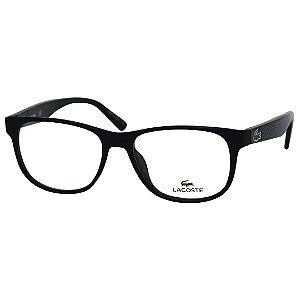 Óculos de Grau Lacoste L2743 Acetato Preto Fosco Médio