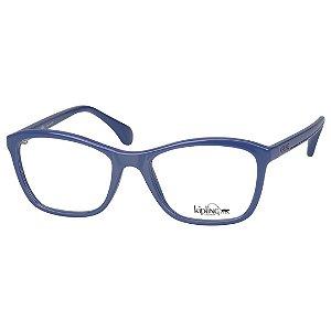 Óculos de Grau Kipling KP3089 Feminino Azul Brilho Plástico Médio