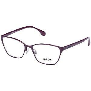 Óculos de Grau Kipling KP1105 Metal Roxo Brilho Feminino Médio