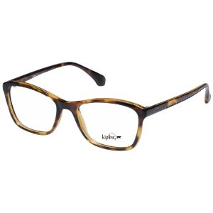Óculos de Grau Feminino Kipling KP3089 Marrom Demi Brilho Acetato