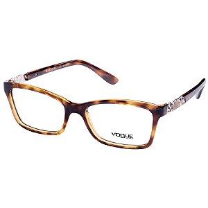 Óculos de Grau Feminino Vogue VO2982 Marrom Demi Médio