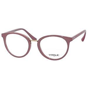 1ddf0887f74f5 Óculos Feminino de Grau Vermelho Brilho e Rosa Kipling KP3105 ...