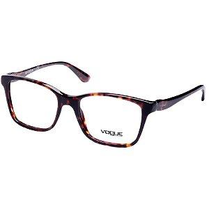 Óculos de Grau Feminino Vogue VO2907 Marrom Demi Médio