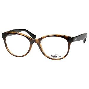 Óculos de Grau Kipling Brilho KP3088 Marrom Tartaruga Feminino