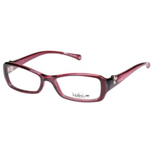 Óculos de Grau Feminino Kipling KP3020 Vinho Brilho Translúcido