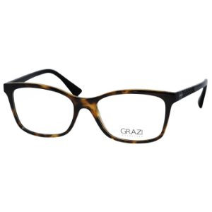 Óculos de Grau Grazi Massafera GZ3031B Marrom Tartaruga Brilho