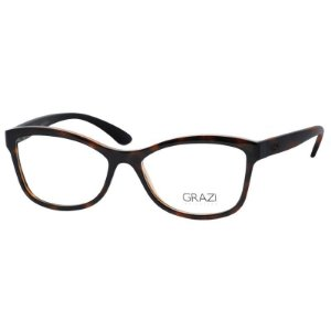 Óculos Grazi Massafera GZ3036 Marrom Tartaruga Brilho Pequeno