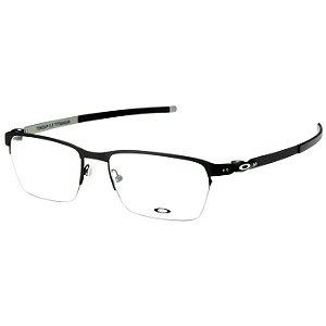 Óculos de Grau Oakley Tincup 0.5 Titanium OX5099 Preto Fosco