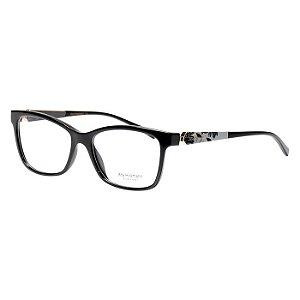 Óculos de Grau Ana Hickmann AH6260 Acetato Feminino Preto Brilho