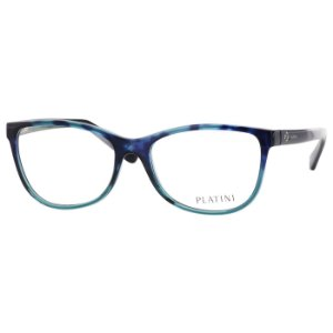 Armação de Grau Azul Translucido Feminina Platini P93143B