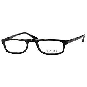 Óculos de Leitura Platini Preto Brilho P93138