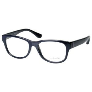 Óculos de Grau Feminino Jean Monnier J83144 Brilho Azul Marinho