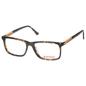 Armação de Óculos Carmim CRM41109 Marrom Tartaruga Brilho