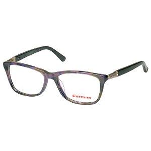 Oculos de Grau Feminino Carmim CRM41111 Roxo Mesclado com Marrom