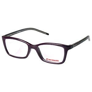 Óculos de Grau Carmim CRM41305 Feminino Vinho Brilho Médio