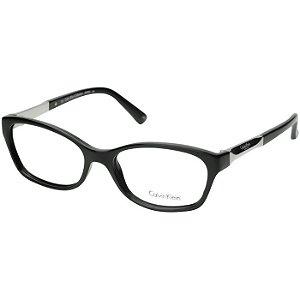 Armação de Óculos Calvin Klein CK7931 Preto Brilho Acetato