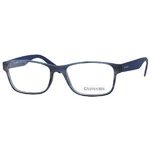 Armação de Grau Calvin Klein CK5970 Colorthin Azul Fosco Médio