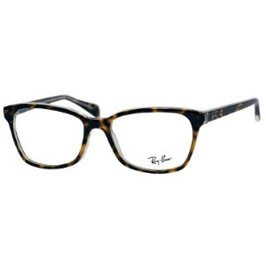 Óculos de Grau Feminino Ray Ban RX5362 Acetato Marrom Tartaruga