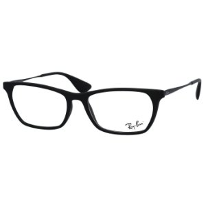 Óculos de Grau Ray Ban RX7053L Preto Fosco Médio