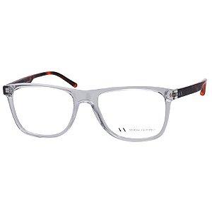 7ce087ca2e212 Óculos de Grau Azul Fosco Armani Exchange AX3012L Médio - Óculos de ...