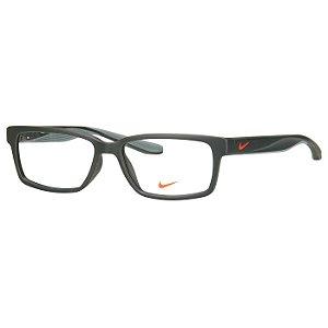 Oculos de Grau Verde Escuro Nike 7103 Médio