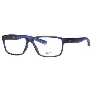 Oculos de Grau Médio Azul Nike 7092