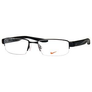 Oculos de Grau Nike 8170 Médio Masculino Preto Fosco
