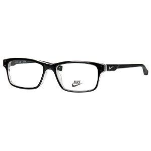 Oculos de Grau Nike 7231 Médio Preto Brilho