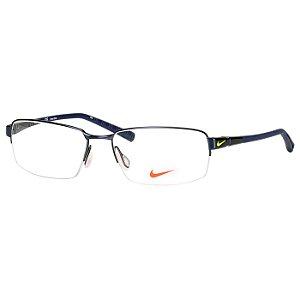 Oculos de Grau Nike 6053 Fio de Nylon Masculino Azul
