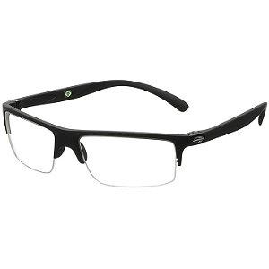 Óculos de Grau Mormaii Eclipse 1 Preto Fosco Grilamid Médio