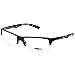 b3c679699bdb7 Armação Óculos de Grau Mormaii Camburi Air Médio Preto Brilho Masculino