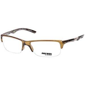 Óculos de Grau Masculino Mormaii Camburi Air Marrom Translucido