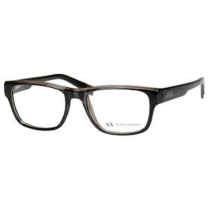 Oculos de Grau AX3018 Preto Armani Exchange Médio