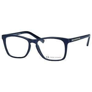 Óculos de Grau Azul Fosco Armani Exchange AX3012L Médio