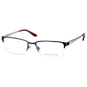 Oculos Masculino de Grau Ralph Lauren RL5089 Metal Médio