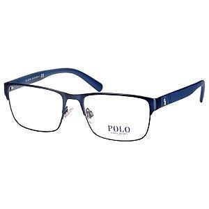 Oculos de Grau Masculino Polo Ralph Lauren Azul Fosco PH1175