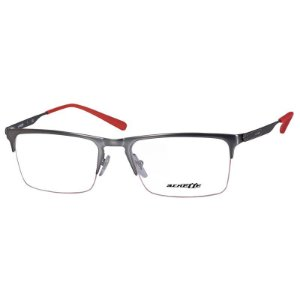 Óculos Masculino Arnette Tail AN6118 Cinza Fosco e Vermelho