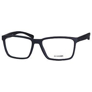 Óculos de Grau Masculino Arnette AN7154L Preto Fosco Emborrachado