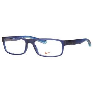 Óculos de Grau Nike 7090 Azul Escuro Médio