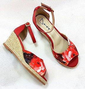 c6aaf7877 Sandália Anabela Verde Bandeira Deep Calçados. - ShoeGirls Sapatos ...