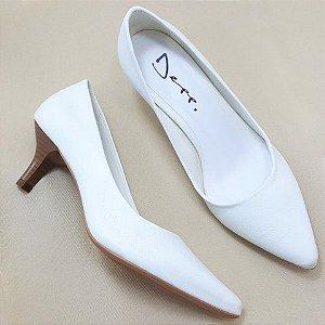 f9cb5ab108 Scarpin Sapato Feminino Salto 5 Cm Bico Fino - Diversas Cores.
