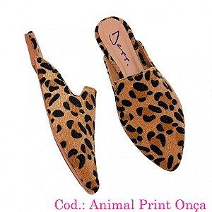352f822d2 Scarpin Animal Print Salto 9 Cm Sapatos Femininos Depp Calçados ...