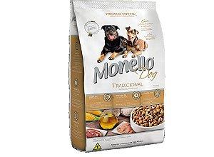 Ração Monello 15kg - Premium tradicional