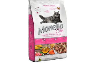Monello cat - Monello cat salmão atum e frango