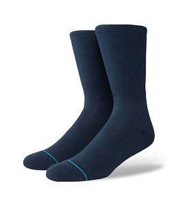 Meia Stance Solids Fashion Icon Indigo