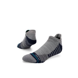Meia Stance Workforce Tab Grey Cano Baixo