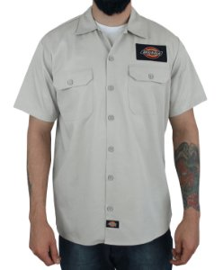 Camisa Dickies Twill Soft Areia