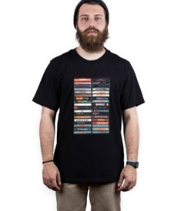 Camiseta Famous Hip Hop Preta